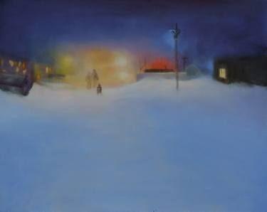 "Saatchi Art Artist Marta Zamarska; Painting, ""Siberian Nocturne 3"" #art"