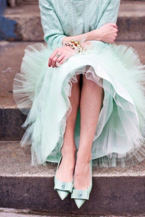 love a tulle skirt