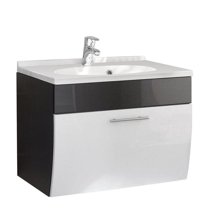 Perfect Waschplatz Tara Anthrazit Wei Posseik Jetzt bestellen unter https