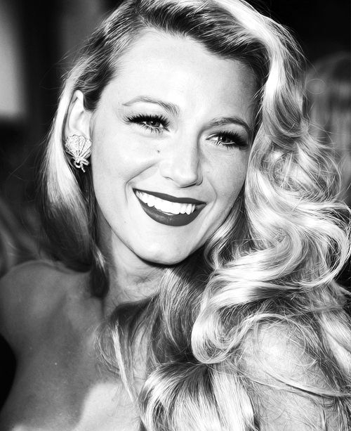 classic glamour - blake lively