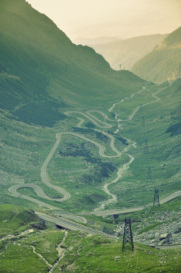 Transfagarasan  #roads #Carpathians #Romania | The Transfăgărășan - second highest paved road in Romania, connects the historic regions of Transylvania and Wallachia and the cities of Sibiu and Pitești. Constructed between 1970 & 1974.