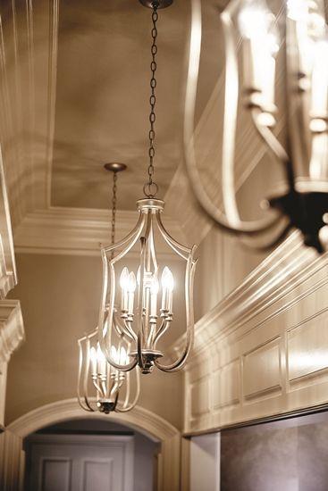 Best 25 foyer chandelier ideas on pinterest for Foyer pendant ideas