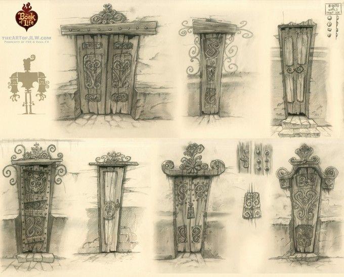 31_Book_of_Life_Concept_Art_JLW_Doors