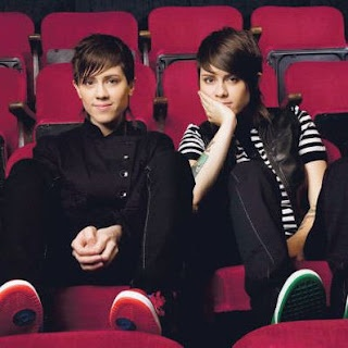 Tegan and Sara - 3 times - 1st time with Bobby, Kyle, Cody, and Chris. They opened for Death Cab in October 2008 at the LC. 2nd time with Emerald at the LC. 3rd time with Mike when they opened at the Honda Civic Tour.