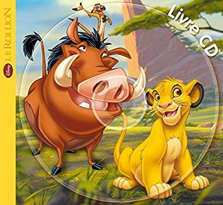 6€ Roi Lion, MON PETIT LIVRE-CD