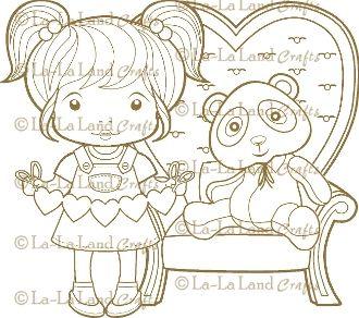 Sweetheart Marci Digi Scene 2 - DIGI Stamp