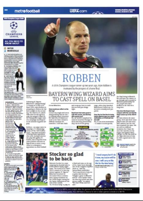 "Robben on tomorrow's Champions League game: ""I still have faith and everyone here is confident we will put things right"" EXCLUSIVE!"