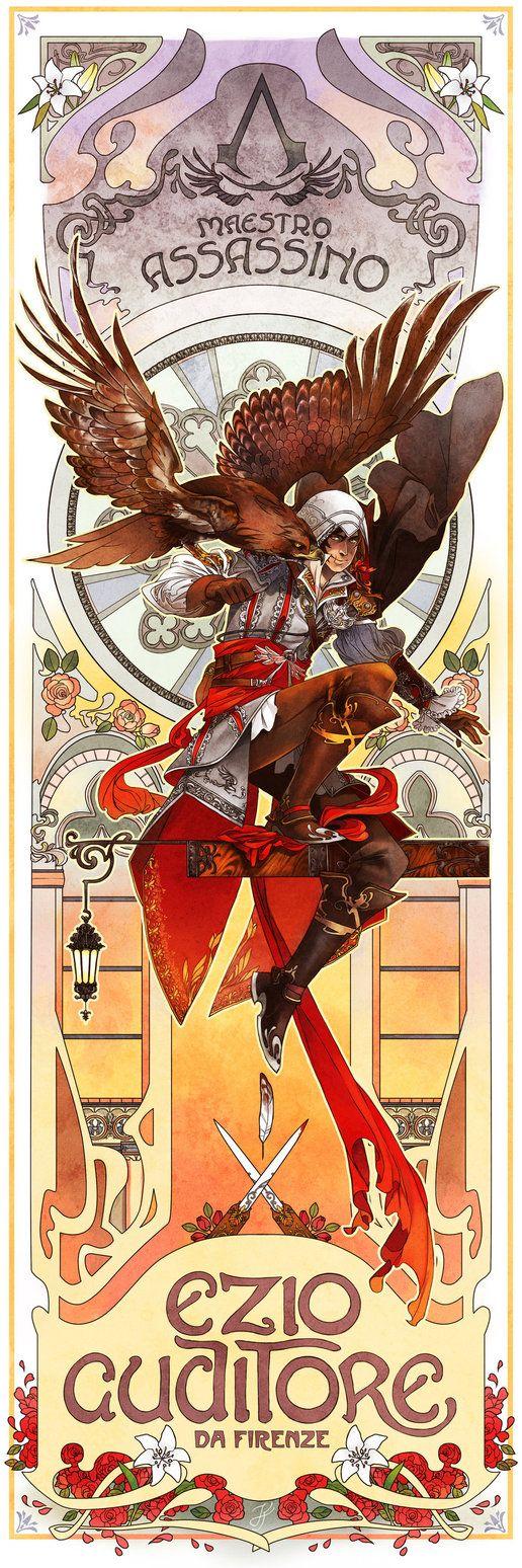 Assassins Creed (Ezio Auditore) :: The Eagle of Florence by ~xfreischutz on deviantART