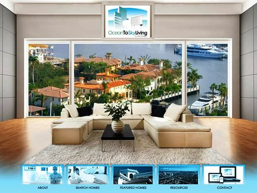 Website Real Estate Desain Terbaik - Ocean to Sky Living - Fort Lauderdale, FL
