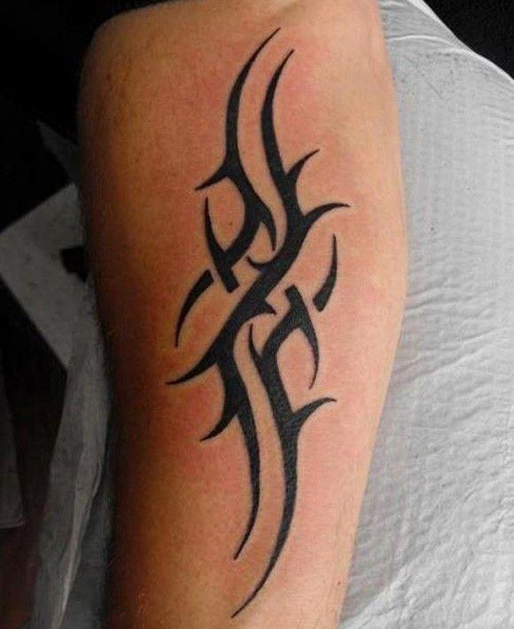Simple Arm Tattoos For Women Minimal arm tattoo in tribal