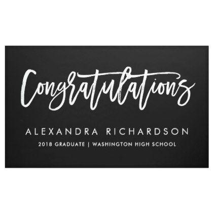 handwritten congratulations graduate banner graduation banners