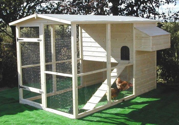 Building a Chicken Co-op Run | Large Chicken Run