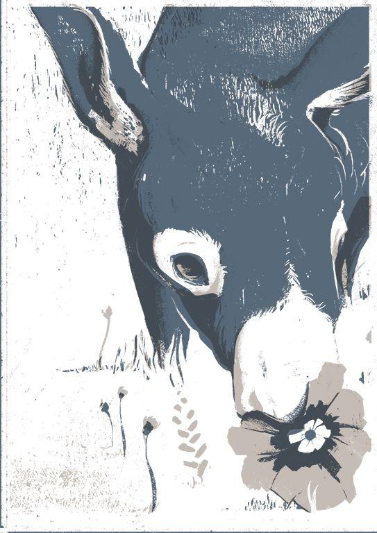 Juan Bernabeu – ilustración Platero y Yo