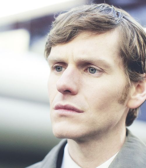 Shaun Evans in his role as Endeavour Morse. He has amazing eyes. :)