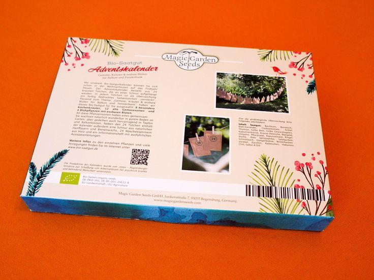Bio Saatgut Adventskalender – im Hortus noch erhältlich! | Hortus Conclusus