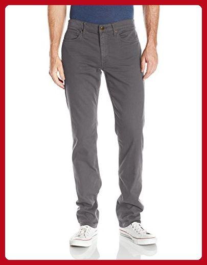 Joe's Jeans Men's Kinetic Twill Brixton Straight and Narrow Jean in Stevenson Colors, Grey Skies, 33 - Mens world (*Amazon Partner-Link)