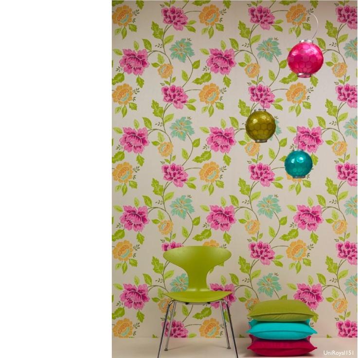 Eijffinger Royal Wallpaper Colorful Decor Wallpaper
