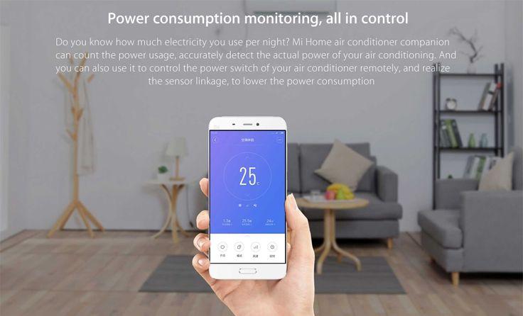 Xiaomi Mi Home Air Conditioner Companion APP Control Sleeping Mode with WiFi ZigBee Technology