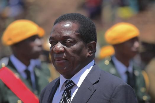 Ex-Vice President of Zimbabwe Mnangagwa Returns Home After Mugabe's Resignation