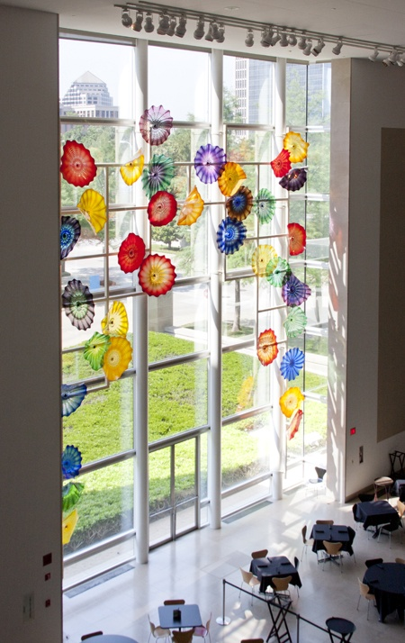 Dale Chihuly Hart Window at the Dallas Museum of Art