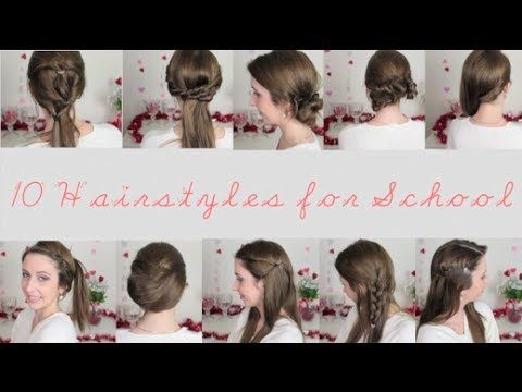 10 hairstyles that are quick, easy and unique for school!
