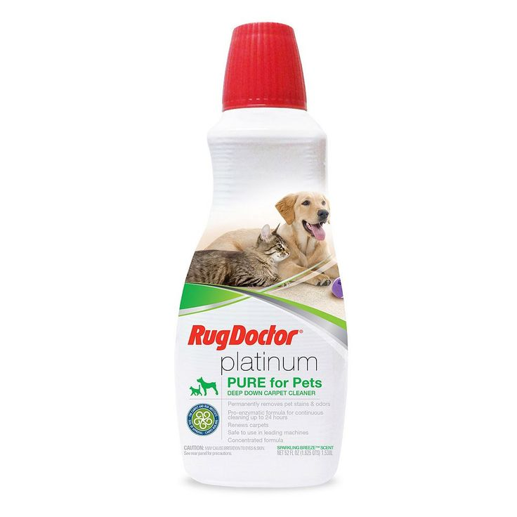Rug Doctor Platinum Pet Carpet Cleaner (52 Ounces), Multicolor
