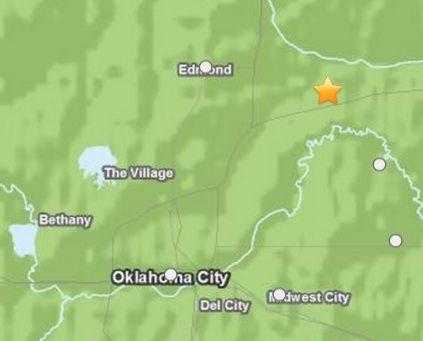 Oklahoma City hit by 4.5 magnitude earthquake
