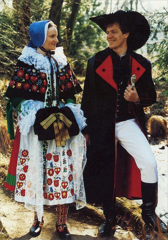 Pyritzer Weizacker Tracht Pommern strój ludowy okolicy Pyrzyc | Flickr - Photo Sharing! #Weizacker