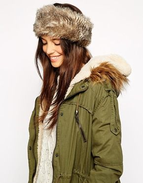 Jack Wills Cottesmore Faux Fur Headband