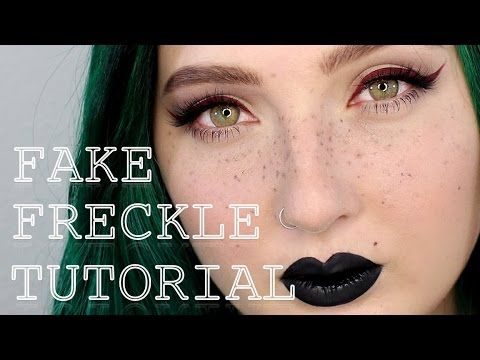 19 best fake freckles images on pinterest fake freckles makeup how to fake freckles makeup tutorial jordan hanz youtube ccuart Choice Image