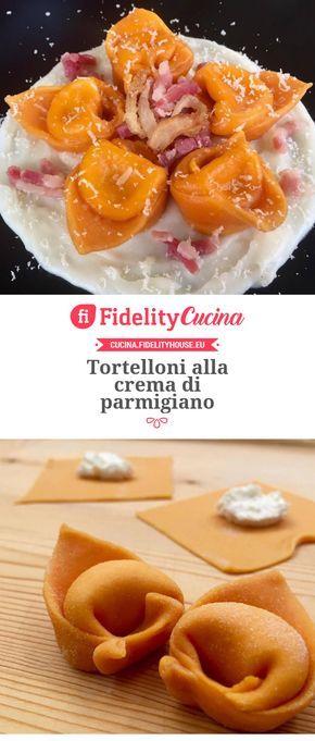 Tortelloni alla crema di parmigiano