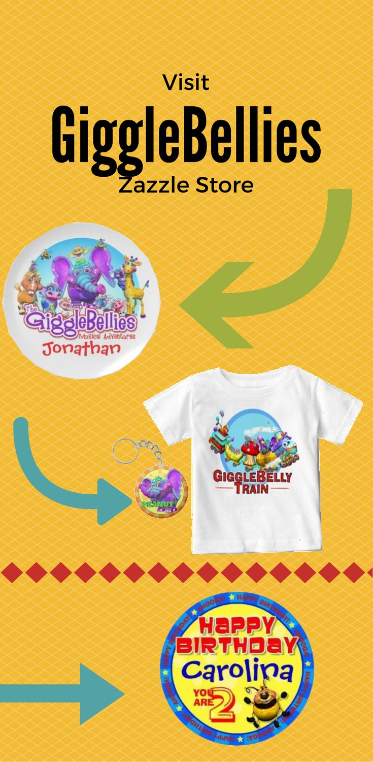 Take a look at some cute design from GiggleBellies Zazzle Store. Find the design on product like pillow, t-shirt, keychain, iphone case, Samsung case, cups, wallets and more.