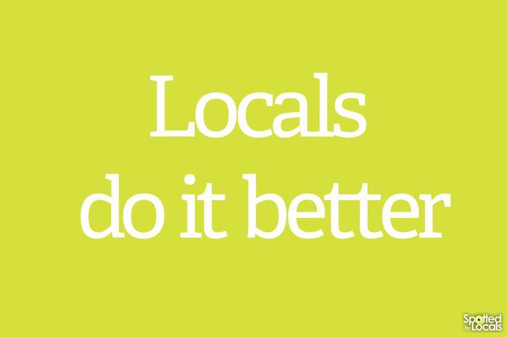 Twitter / spottedbylocals: Locals do it better ...