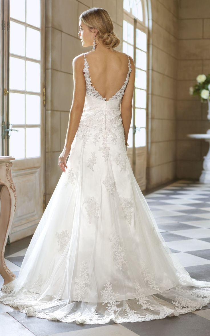 Strapless Open Back Wedding Dresses