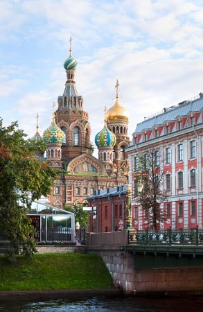 Church of the Resurrection of Christ (Saviour on Spilled Blood), St. Petersburg, Russia by Anna Serbolina