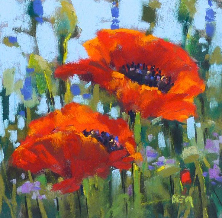 Painting My World    'In Flander's Fields'            6x6             pastel          ©Karen Margulis sold
