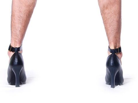 High Heels Were Made For Men -- Thought Glass #8
