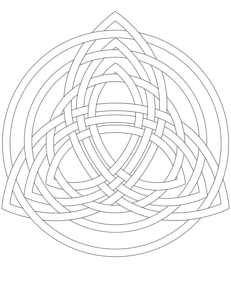 25  best ideas about triquetra on pinterest