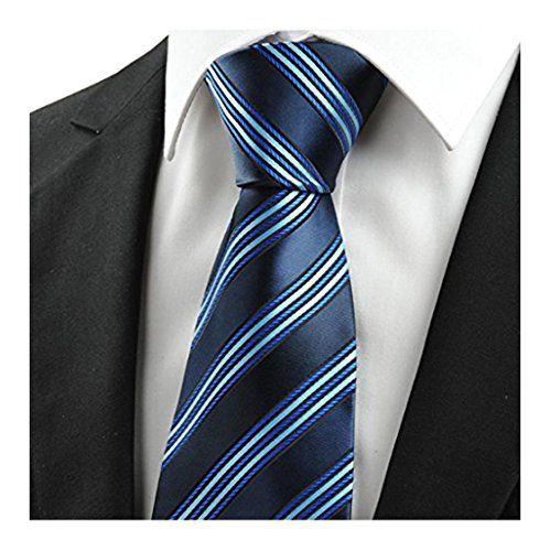 90 kr. MENDENG Mens Elegant Navy Blue Striped Business Ties Jacq... https://www.amazon.co.uk/dp/B01HMEWWJS/ref=cm_sw_r_pi_dp_x_WWx5xbF0F7SBB