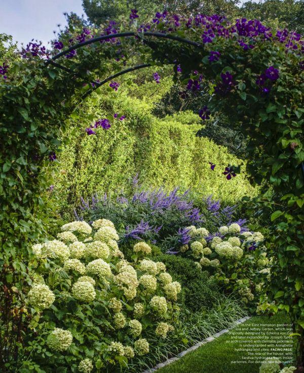 Ina Garten's Garden | Featured in Elle Decor July/August
