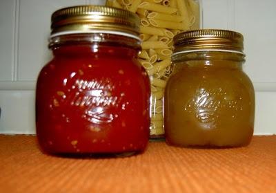Mermelada de tomate y cebolla