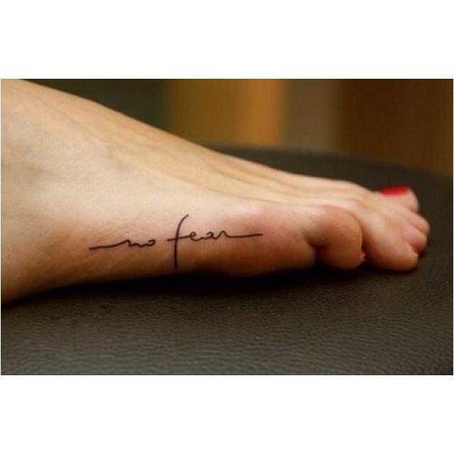 Foot tattoooo