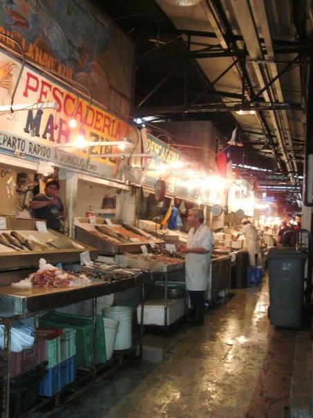 """mercado central"" the fresh fish market"