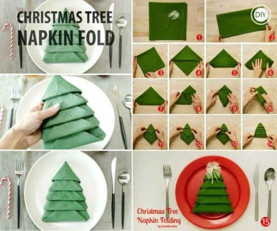 How To Perfect Your Christmas Table Decorations  CnNzLTAtNUIyZmRh: 25+ Best Ideas About Christmas Tree Napkin Fold On