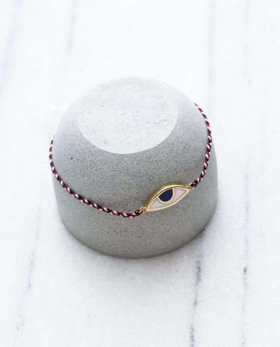 Tridatu Eye Bracelet Gold