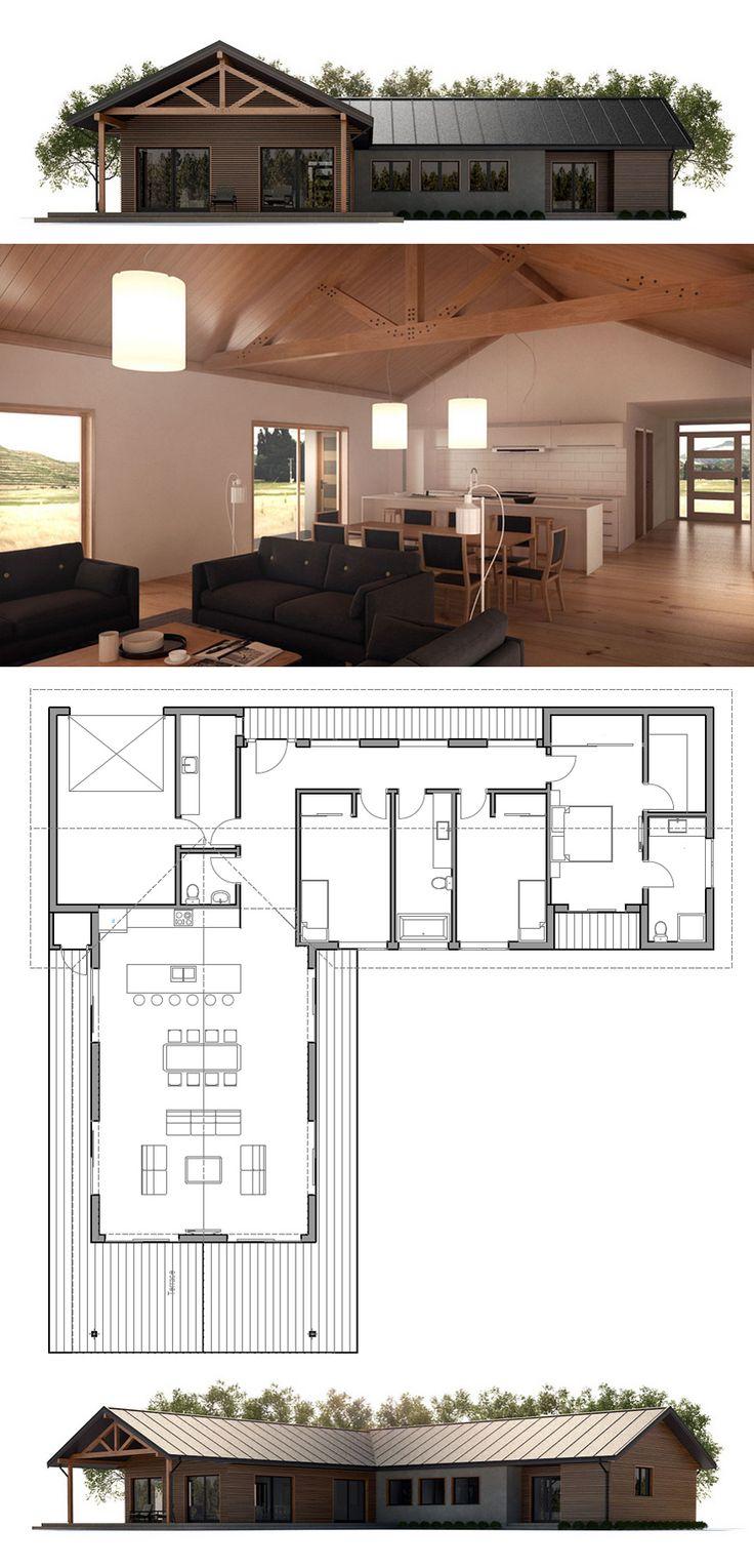 Small House Plan                                                                                                                                                                                 Mais