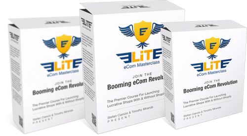 Elite eCom Masterclass is a groundbreaking course where you will discover how you can use a powerful eCommerce platform that has all of the benefits of Shopify without the monthly fees! This is a complete eCommerce course covering everything including niche selection, optimal shop set up, pricing, ads, sourcing, and more.