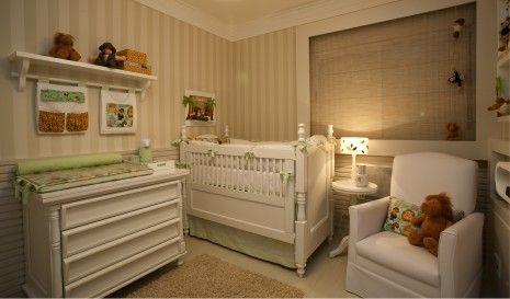 Quarto de bebê safári moderno verde e palha | Quarto de bebê - Decoração, bebês, gravidez e festa infantil