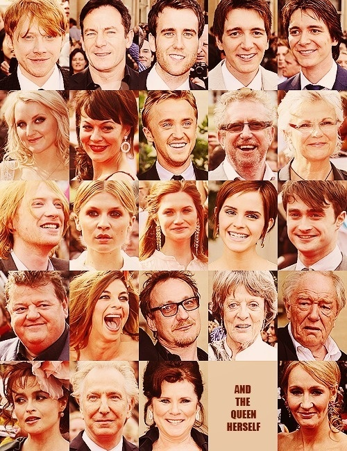 Naww :) Awesomeness!: Birthday, Harry Potter Cast, Solemn Swear, Pottercast, The Queen, Mischief Management, Book, Movie, People