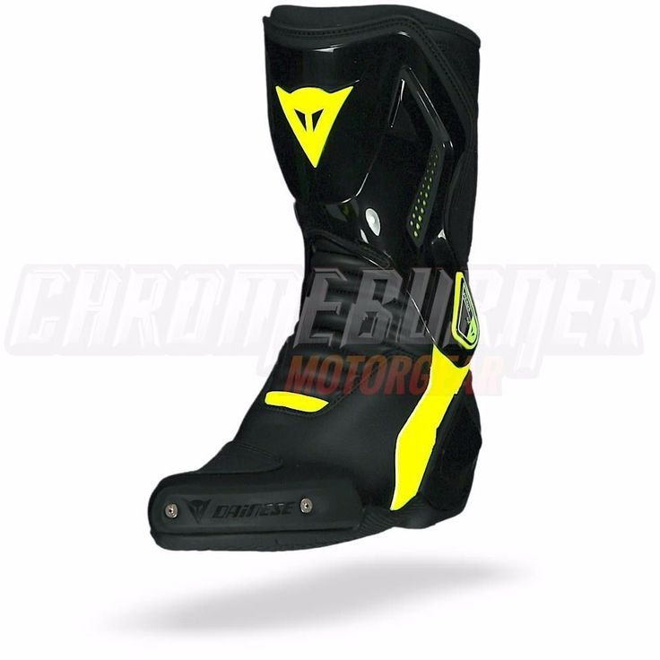 Dainese Nexus Boots Black fluo-yellow, Motorcycle Boots, NEW!